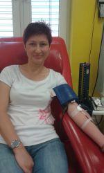 Daruji krev v...