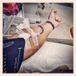 Darování krve...